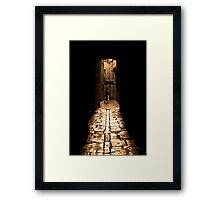 Insular Calm Framed Print