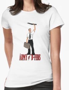 Army of D-Fens Womens Fitted T-Shirt
