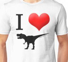 I Heart Dinos Unisex T-Shirt
