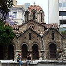 The Byzantine Church of Panaghia Kapnikareas in the Heart of Athens by HELUA