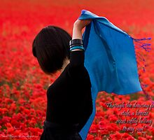 Through the Dancing Poppies by Gethin Thomas