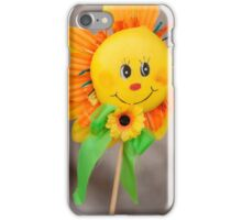 decorative sunflower iPhone Case/Skin