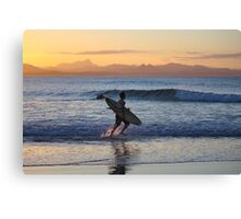 running out of daylight Canvas Print