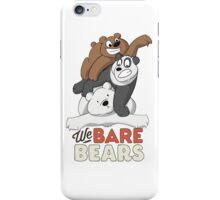 Bear Pile! We Bare Bears iPhone Case/Skin