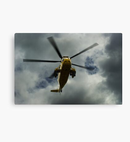 RAF rescue helicopter Canvas Print