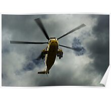 RAF rescue helicopter Poster