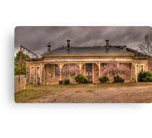 Bowenfels Station  c1869 - Lithgow NSW - The HDR Experience Canvas Print