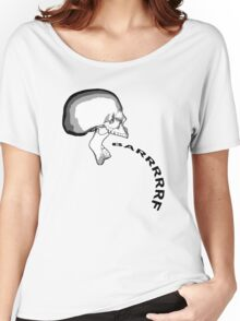 Barfing Skull Women's Relaxed Fit T-Shirt