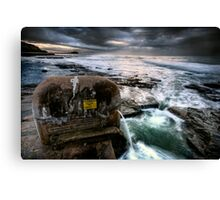 The Pumping Station. Canvas Print