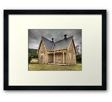 Bowenfels Station Masters Cottage c1869 - Lithgow NSW Framed Print