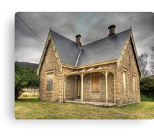 Bowenfels Station Masters Cottage c1869 - Lithgow NSW Canvas Print