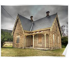 Bowenfels Station Masters Cottage c1869 - Lithgow NSW Poster