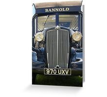 Bannold Truck Greeting Card
