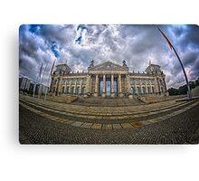 Reichstag Building, Berlin Canvas Print