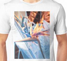 Strelitzia in Infrared Unisex T-Shirt