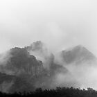 Misty Mountains. by CJTill