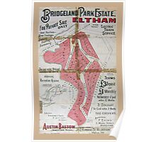Vintage Poster, Eltham South ... Poster