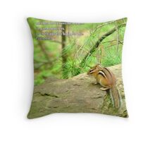 things to high for me Throw Pillow