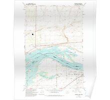 USGS Topo Map Washington Paterson 243104 1993 24000 Poster