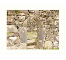 Irish Arch Art Print