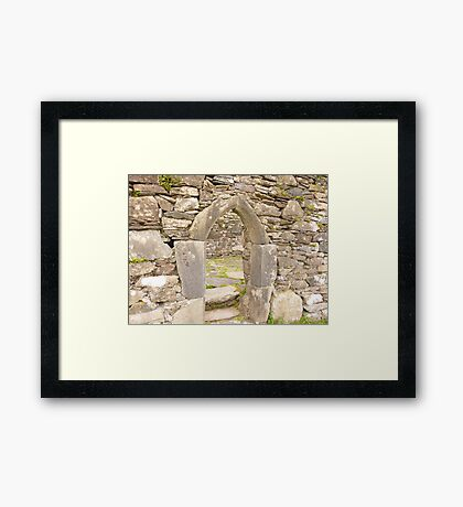 Irish Arch Framed Print