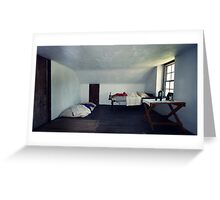 The Boring Bedroom Greeting Card