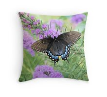 Tiger Butterfly Throw Pillow