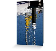 ~Reflections Dockside~ Greeting Card