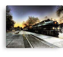 Mystery Train  Canvas Print
