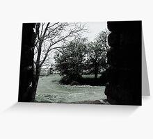 Gormenghast through the Window Greeting Card