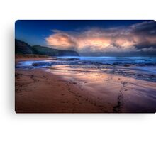 Turimetta Exposed 2 Canvas Print