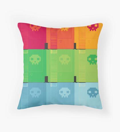 8Bit is Dead, Long Live 8Bit! Throw Pillow