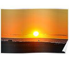 Wildwood Sunrise Poster