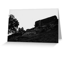 Gormenghast grounds from below - Denmark Greeting Card