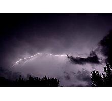 Spectacular Summer Light Show Photographic Print