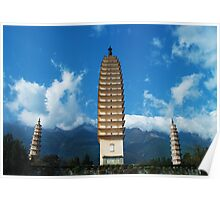 Three Pagodas Poster