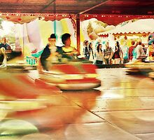 Dodgems at the Lindfield Fun-fair #8 by Matthew Floyd