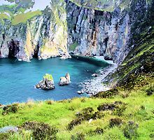 View from Slieve League, Sliabh Liag by sparky178