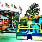 Blurry - Lindfield Fun Fair by Matthew Floyd