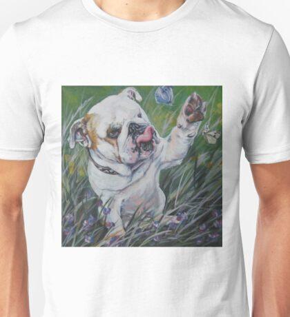 English Bulldog Fine Art Painting Unisex T-Shirt