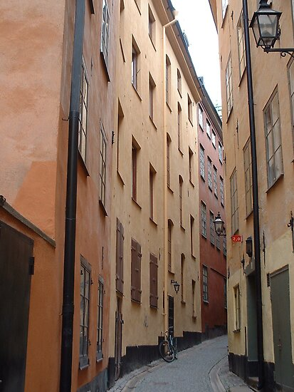 Gamla Stan, Alleyscape by ellismorleyphto