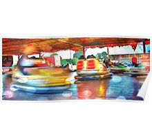 Dodgems at the Lindfield Fun-fair #5 Poster