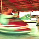 Dodgems at the Lindfield Fun-fair #4 by Matthew Floyd