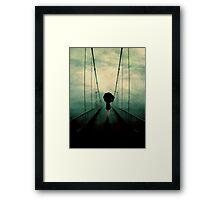 Walk Away Framed Print