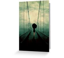Walk Away Greeting Card