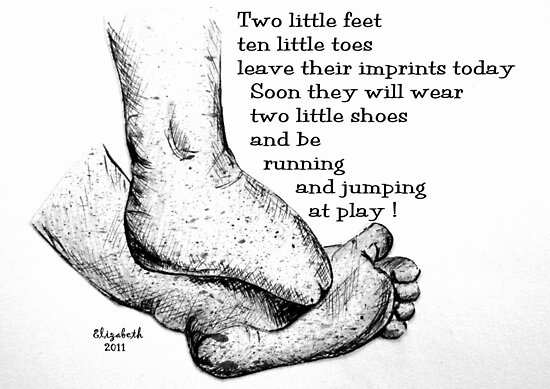 Little feet by Elizabeth Kendall