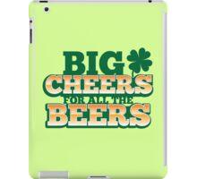 BIG CHEERS FOR ALL THE BEERS! IRISH beer shop design iPad Case/Skin