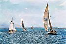 Sailing II - watercolour by PhotosByHealy