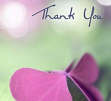 natural butterfly _ thank you card by 1001cards