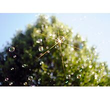 Star Bubble Photographic Print